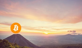 Bitcoin volcano in El Salvador