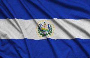 el-salvador-flag-is-depicted-on-a-sports-cloth