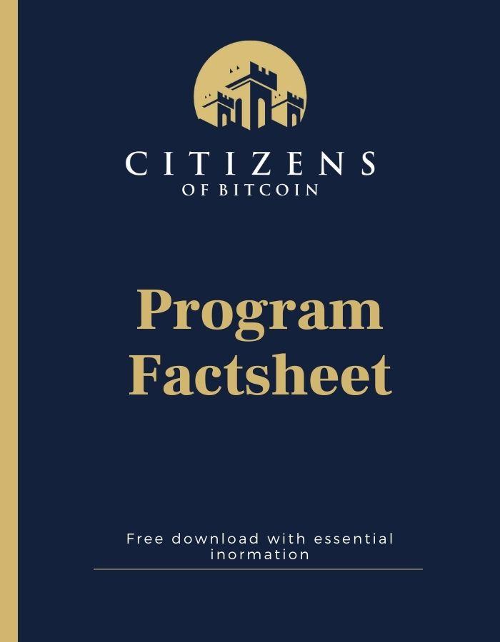 COB Factsheet cover